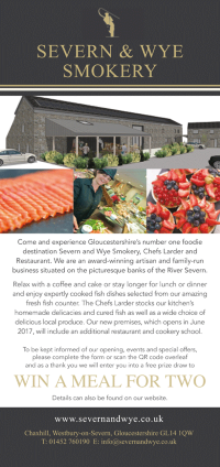 Severn and Wye meal flyer