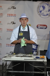 David Preest at British Fish Craft Championships