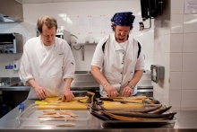 Tom Parker-Bowles and Jay Rayner photo
