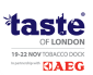 Taste of London, Tobacco Dock logo